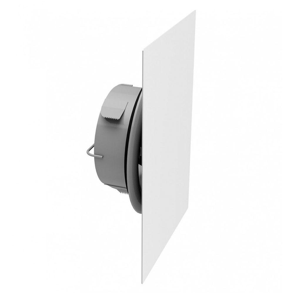 Bouche métallique réglable rectangle