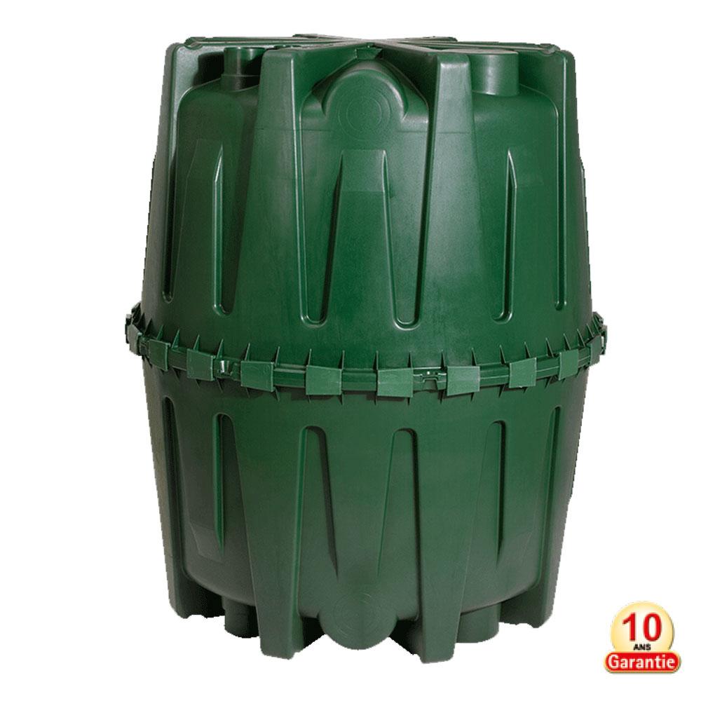 Réservoir d'eau de pluie Bi-coque Hercule