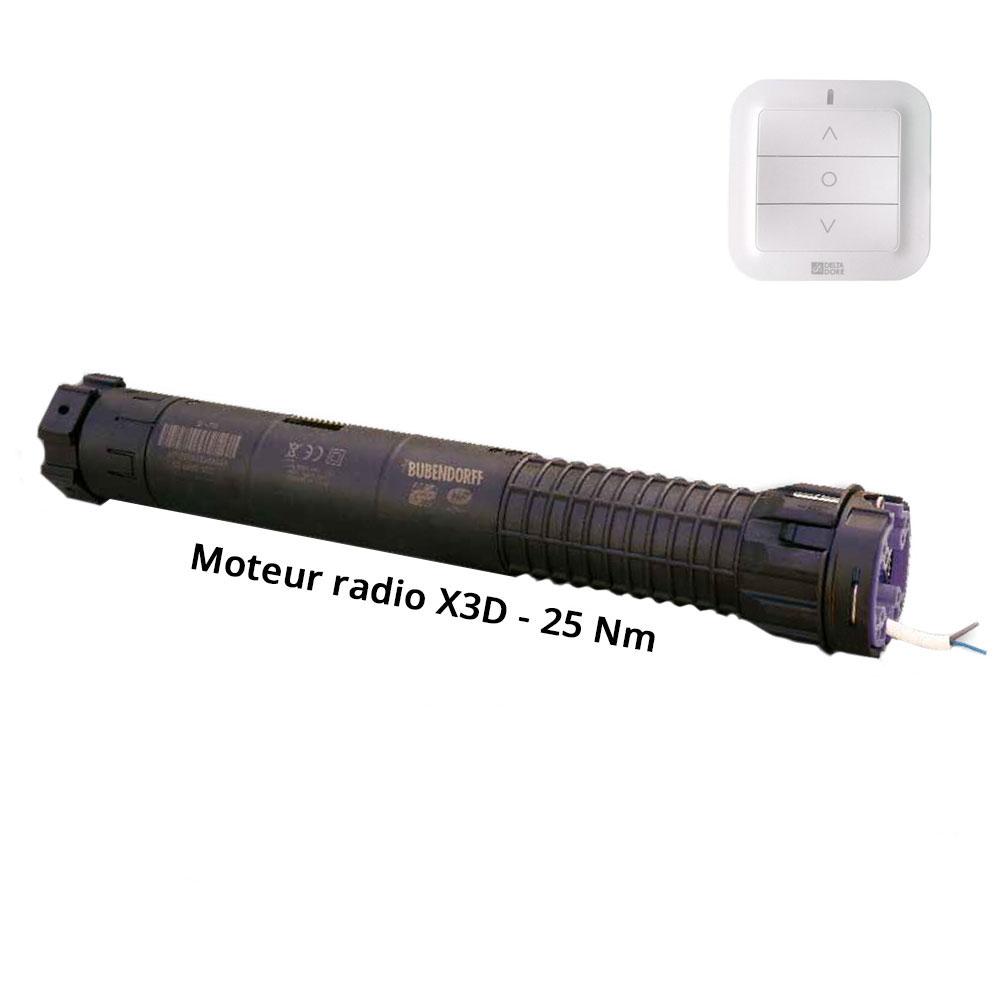 Moteur Radio R X3d 25 Nm D Service Pieces Bubendorff
