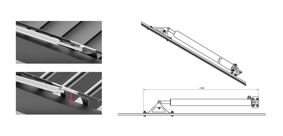 système de lames orientables sb 400