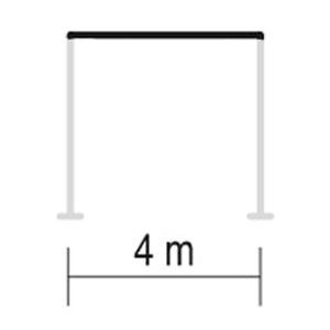 largeur max pergola sb 400