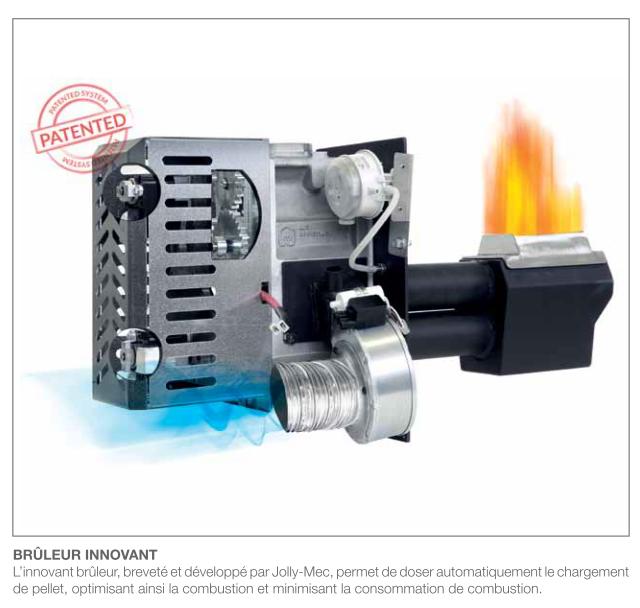 brûleur pour poêle à granulé
