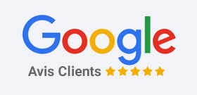 Logo Google reviews LCE